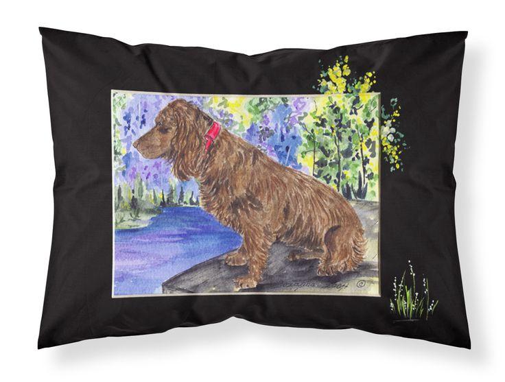 Boykin Spaniel Moisture wicking Fabric standard pillowcase