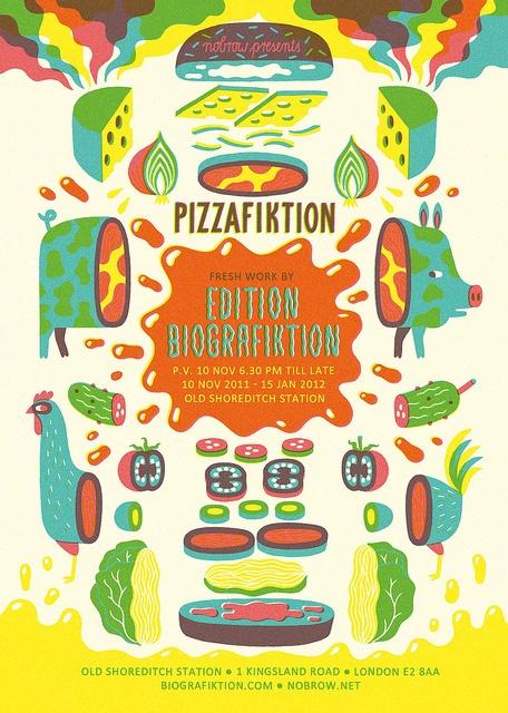 Pizzafiktion by Till Hafenbrak.