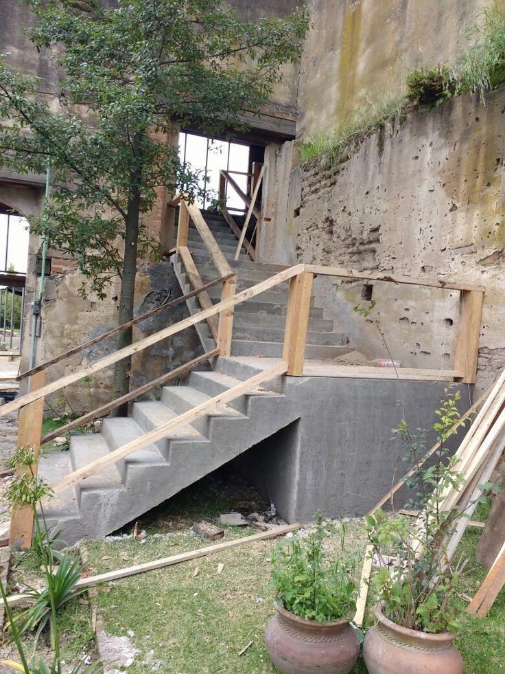 Principio de barandal hacienda tejalpa estado de México, Toluca rat rod
