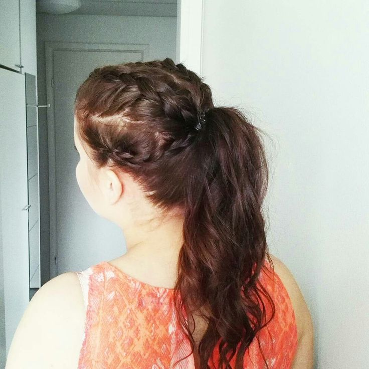#dutchbraid #ponytail  #sportyhair