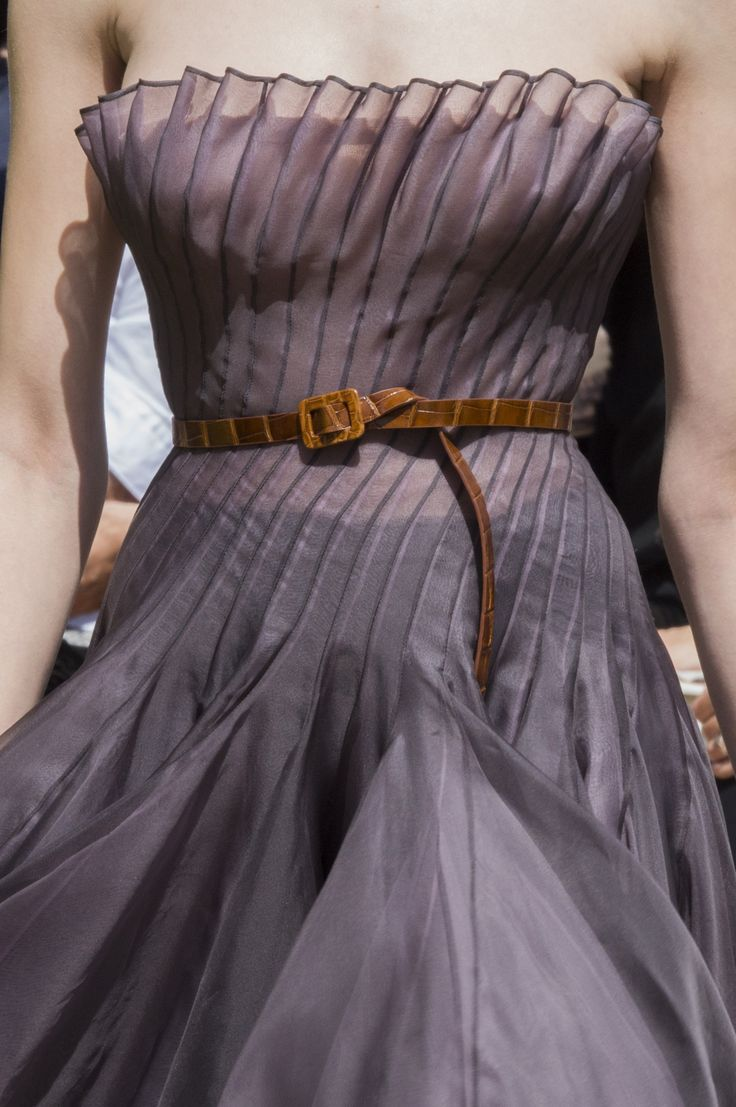 Christian Dior Fall 2017 Couture Fashion Show Details, Runway, Couture Collections at TheImpression.com - Fashion news, street style, models, backstage, accessories, and more