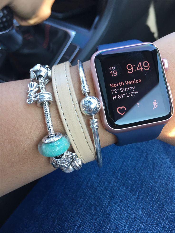 Apple Watch & Pandora arm party