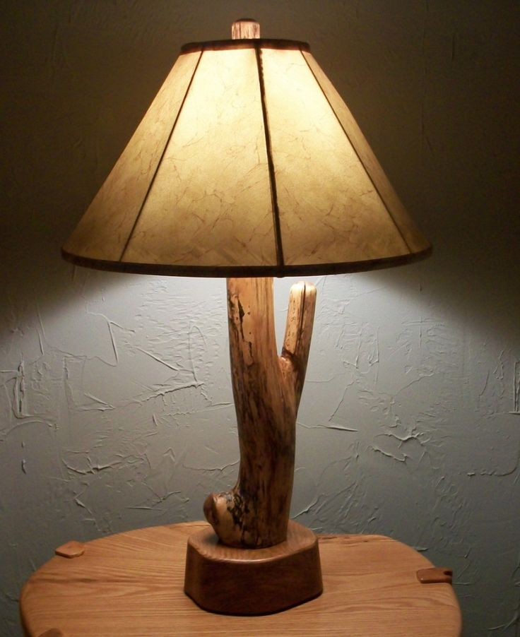 1000+ Ideas About Rustic Table Lamps On Pinterest