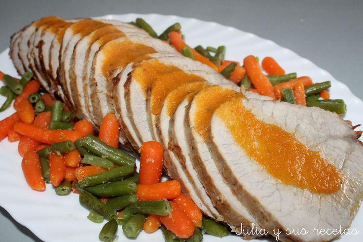 ternera, redondo de ternera al horno, carne de ternera, recetas con ternera, Julia y sus recetas