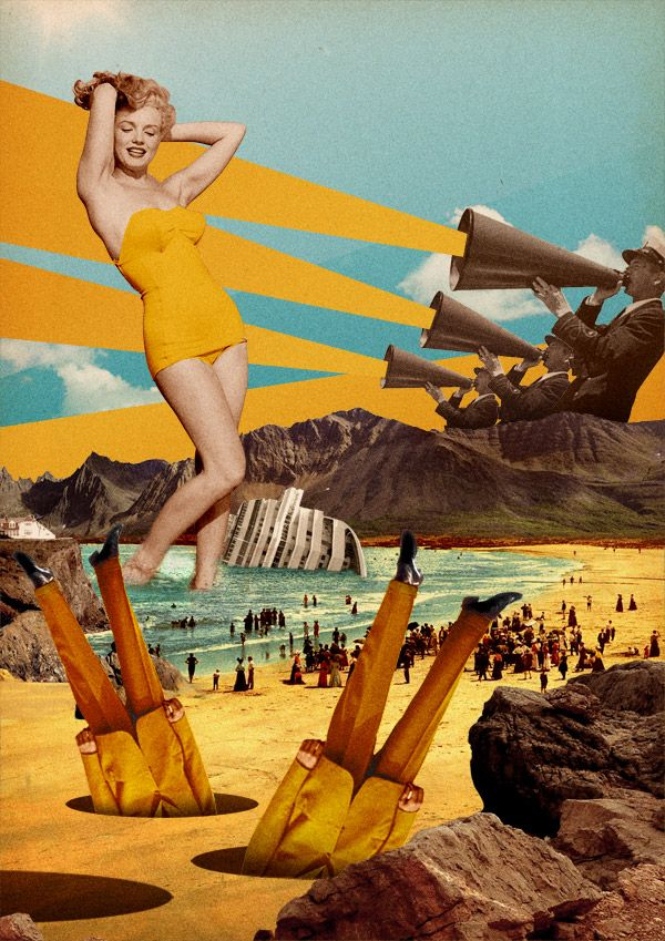 Young Artist : Clement Goebels CHARLOTTE CLAES _REFERENT 8_COURS 3_IMAGE_COLLAGE_ENERGETIQUE_CALME