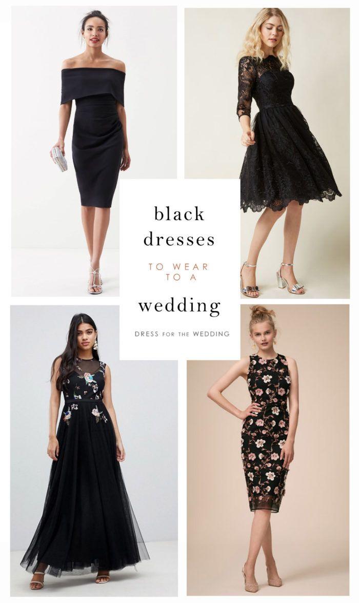 Black Dresses Black Dresses For Wedding Guests Black Wedding Dresses Nice Black Dress Black Wedding Guest Dresses [ 1175 x 700 Pixel ]