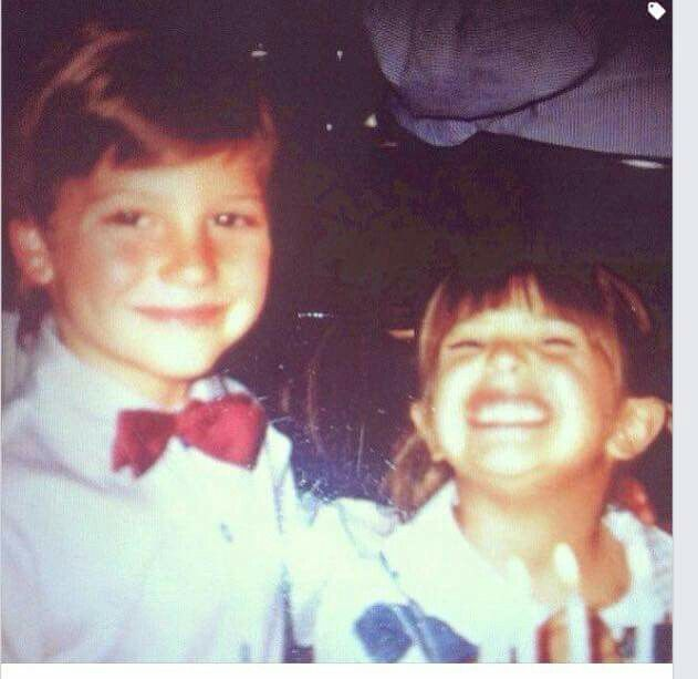 Daniel Lissing and his sister