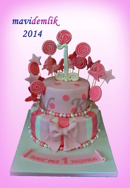 mavi+demlik+mutfağı-+izmir+butik+pasta+kurabiye+cupcake+tasarım-+şeker+hamurlu-kur:+BADE'NİN+1+YAŞ+PASTASI+VE+1+YAŞ+KURABİYELERİ