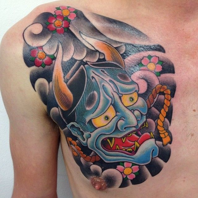 best 25 hanya mask tattoo ideas on pinterest hannya mask tattoo oni mask tattoo and japanese. Black Bedroom Furniture Sets. Home Design Ideas