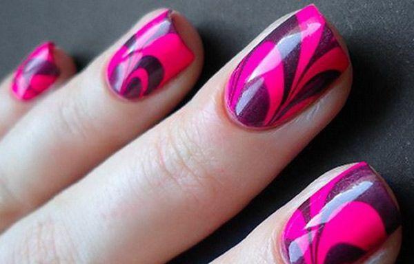 Uñas decoradas modernas, . Clic y Síguenos, Follow! #uñasdecoradas #colournailart #uñasconbrillo