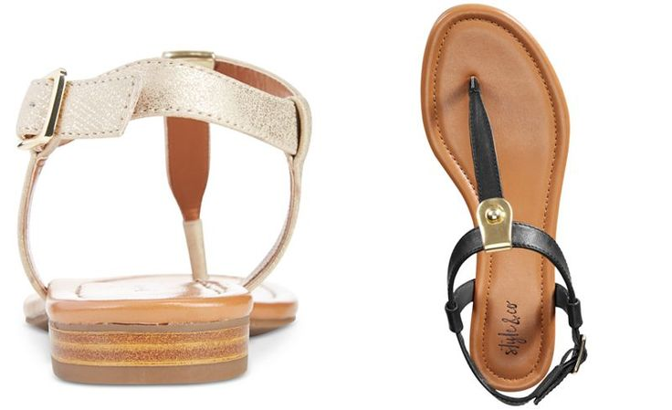 Style & Co Baileyy Thong Sandals, Only at Macy's - Sandals - Shoes - Macy's