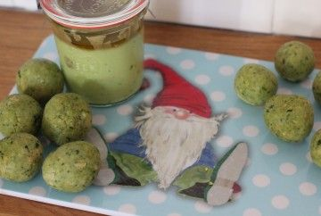 Spinat Falafel für Babies und Kleinkinder #BLW #Baby #kleinkind #fingerfood #schnellegericht #mittag
