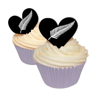 SILVER FERN HEARTS EDIBLE WAFER 12 PACK