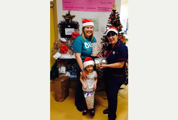 Sutton Coldfield volunteer helped spread some festive cheer in December by delivering hampers to the Birmingham Women's Hospital neonatal unit. Jo was on the unit with her own daughter four years ago and knew exactly what the parents were going through. The hampers were full of essentials for new parents.