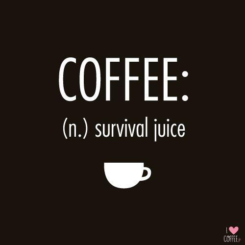 My survival juice! http://en.ilovecoffee.jp
