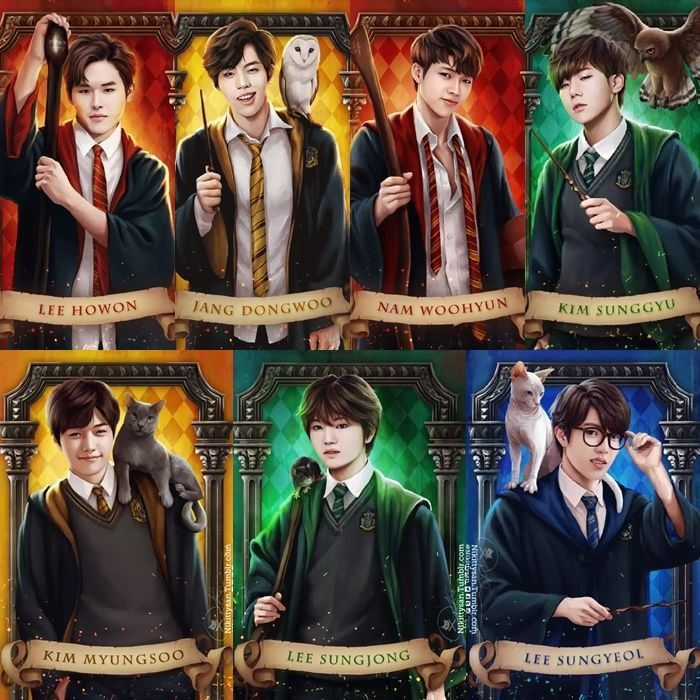 Pin By Kyu Zizi On Loveinfinite Fan Drawing Kpop Fanart Harry Potter