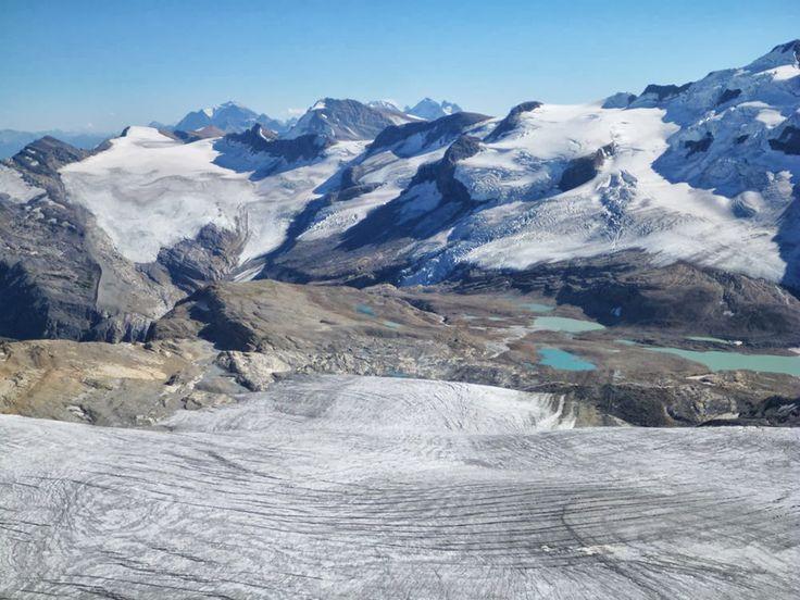 Balfour Glaciers - Sept 10, 2013