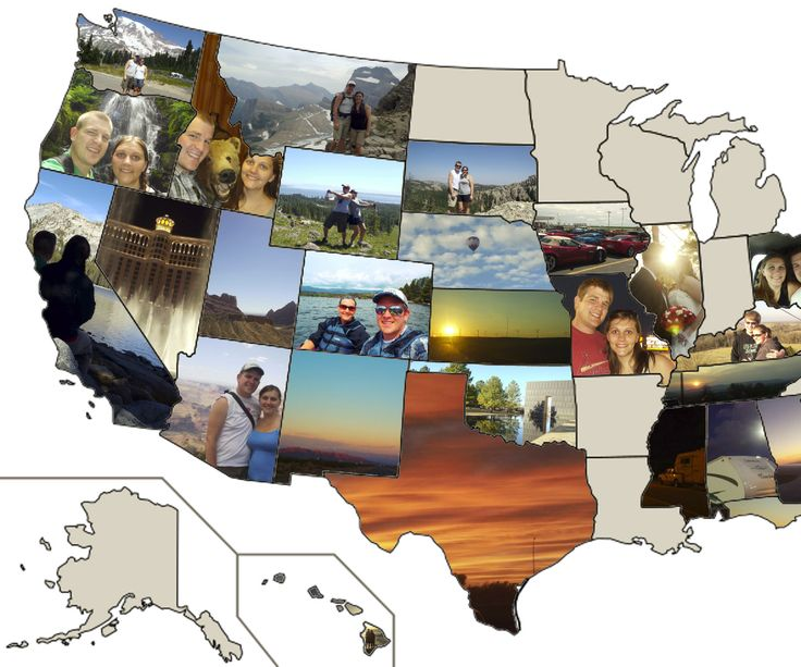 My wife and I travel a lot for work, and someone recently suggested that I make a map of the states we've visited with pictures from those states. I liked the idea and got started. Since people have shown interest in the map and how I made it, I thought I would make an Instructable so you can make one as well!The process is really simple once you have the right tools. In the next few steps, I will explain what software I am using and give you a crash course of how it works.