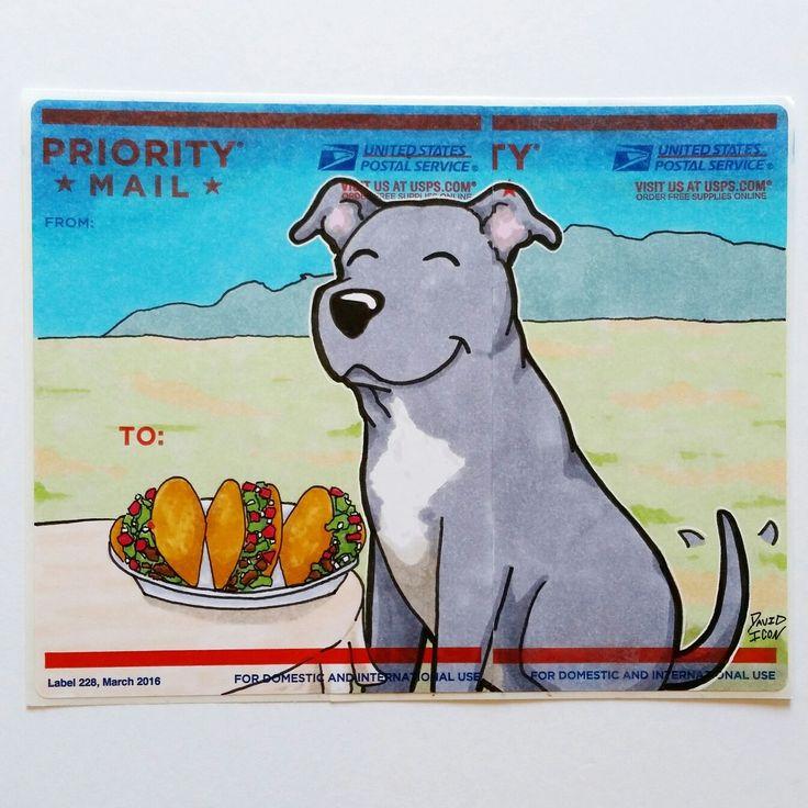 Dog sticker art tacos stickers cartoonart cutecoolawesome streetartstickers