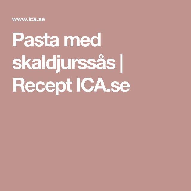 Pasta med skaldjurssås   Recept ICA.se