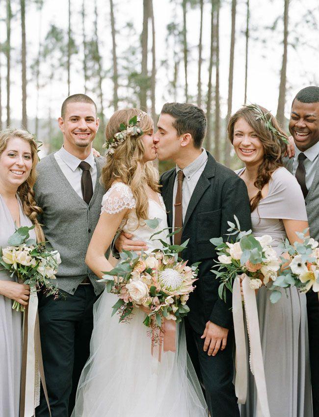 Dreamy Vintage-Inspired Florida Camp Wedding: Val + Lee – Coralie Beatrix Bridesmaids Dresses