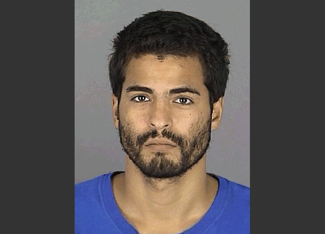 This photo provided by the Pasco County Sheriff's Office shows Adam Matos. Matos, 28, was arrested Friday, Sept. 5, 2014 outside a Tampa hotel as a suspect i...