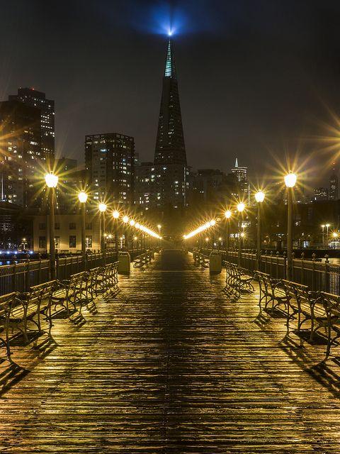 Pier 7 Transamerica View by michael.2999.pics #sanfrancisco #sf #bayarea #alwayssf #goldengatebridge #goldengate #alcatraz #california