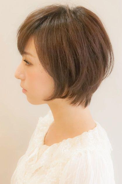 リラックスショートボブ | 元町・石川町の美容室 hair coucouのヘアスタイル | Rasysa(らしさ)