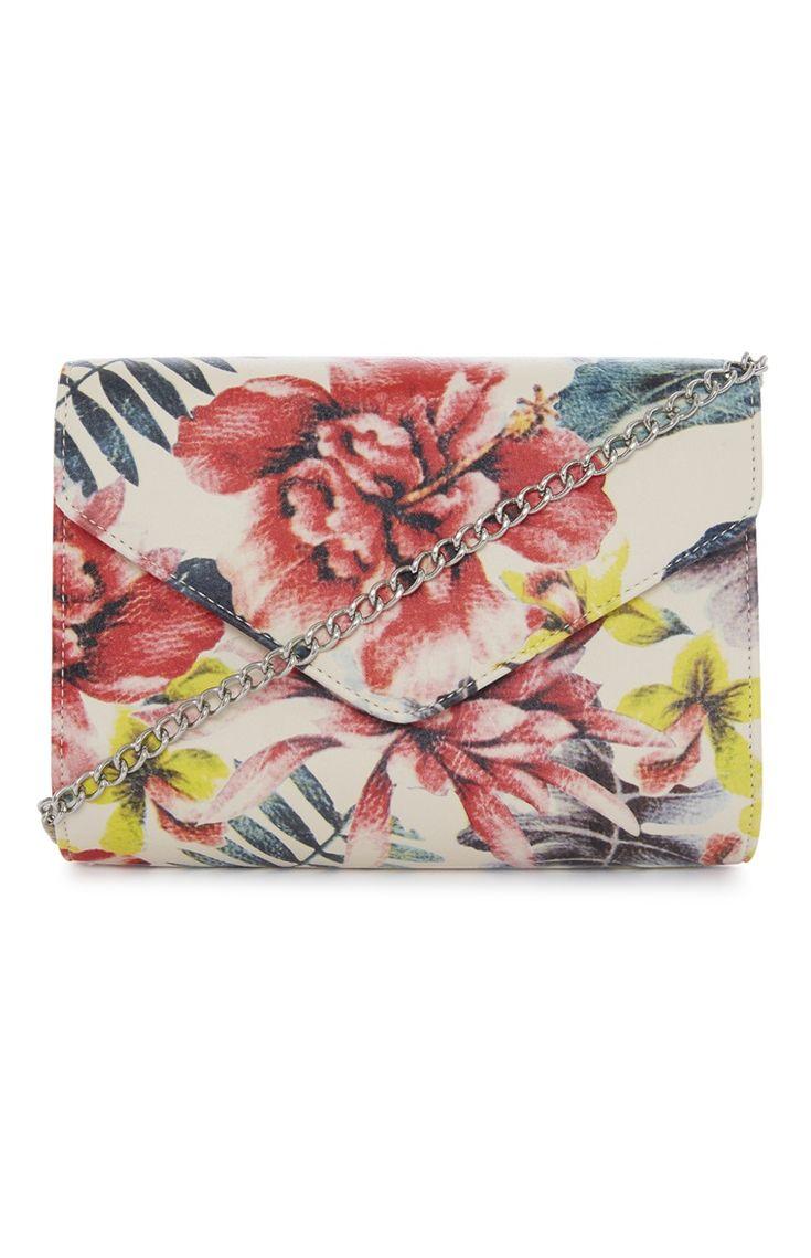 Primark - Tropical Clutch Bag