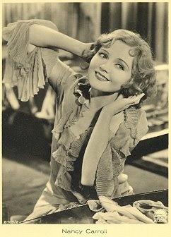 Nancy Carroll - old Hollywood glamour