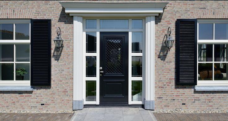Deze kozijnen en shutters huizen pinterest ramen en luiken - Buitenkant thuis ...