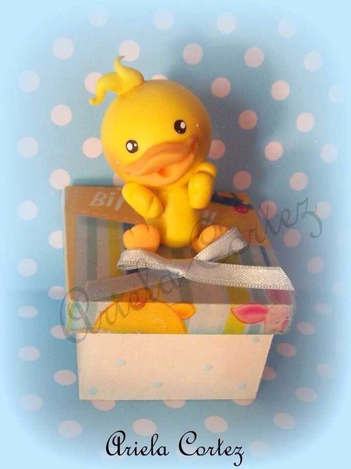 polymer clay porcelana fria pasta francesa masa flexible fimo gum paste pasta goma modelado figurine modelling topper pato duck