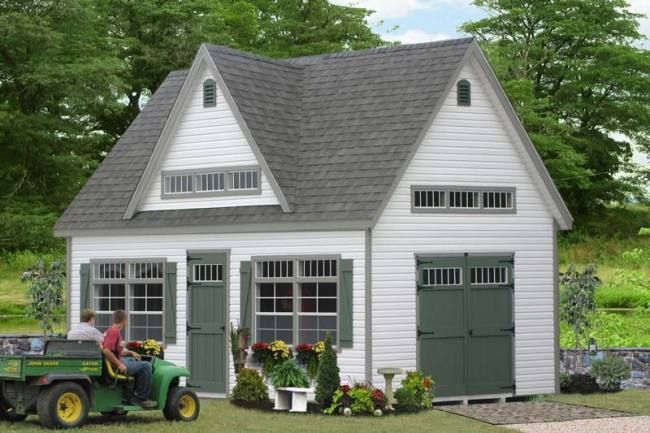 Detached 3 Car Garages Amish Built Long Island Baltimore: 1000+ Ideas About Amish Garages On Pinterest