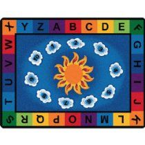 Schoolsin For The Lowest Prices On Clroom Rugs From Carpets Kids Sunny Day Learn Play Preschool Rug Ists With Letter And Number