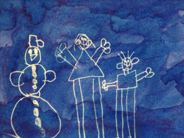 Hanička, Petřík a sněhulák