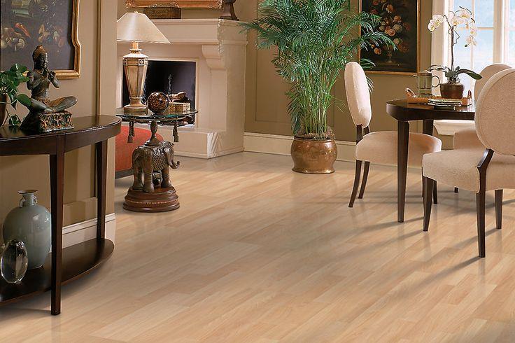 Carrolton plus laminate natural maple strip laminate for Hardwood flooring acworth ga
