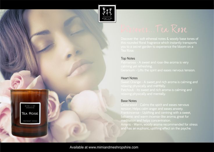 Tea Rose Scented Candle - 270g
