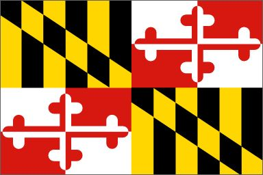 Maryland has the coolest state flag. | 20 Reasons Maryland Is The Coolest State