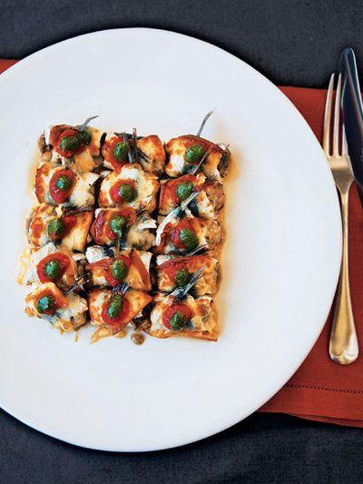 【ELLE a table】いわしとなす、 スモークチーズのオーブン焼きレシピ エル・オンライン