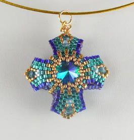 Reversible Bead Jewelry Pendant Series Three