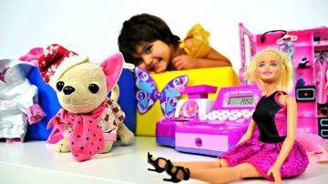 Покупаем одежду для #Барби, Беби Бон и #ЧичиЛав с Машей #МиниМи  http://video-kid.com/14679-pokupaem-odezhdu-dlja-barbi-bebi-bon-i-chichilav-s-mashei-minimi.html  Детский ВЛОГ: покупаем одежду для #Барби, Беби Бон и #ЧичиЛав с Машей #МиниМи