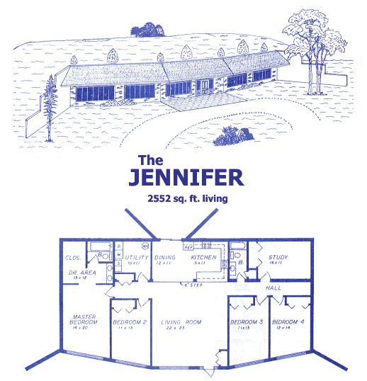 Earth Contact House Plans House And Home Design