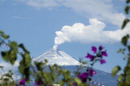 Popocatepetl, Mexikó, Vulkán