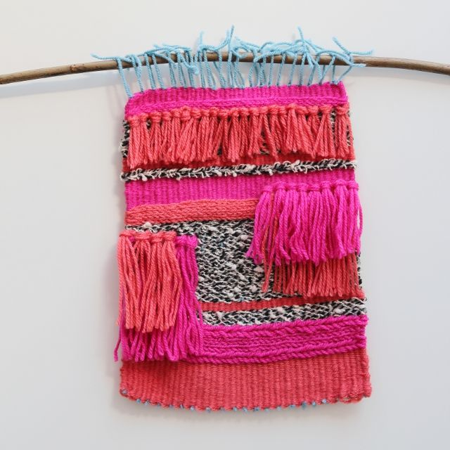 Things I've Made From Things I've Pinned: Diy Woven Wall Hanging.