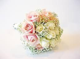 boeket roze rozen en gipskruid - Google zoeken