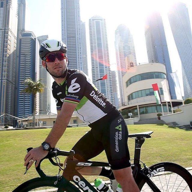 Mark Cavendish High in Dubai photo Matteo Bazzi