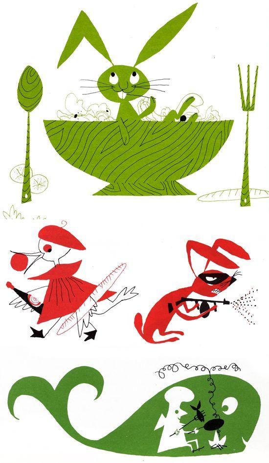 recipe book illustrations. Must have someone illustrate mine..