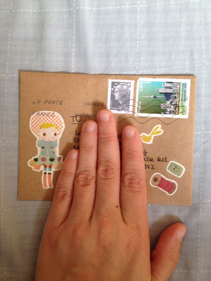 Envelope from France