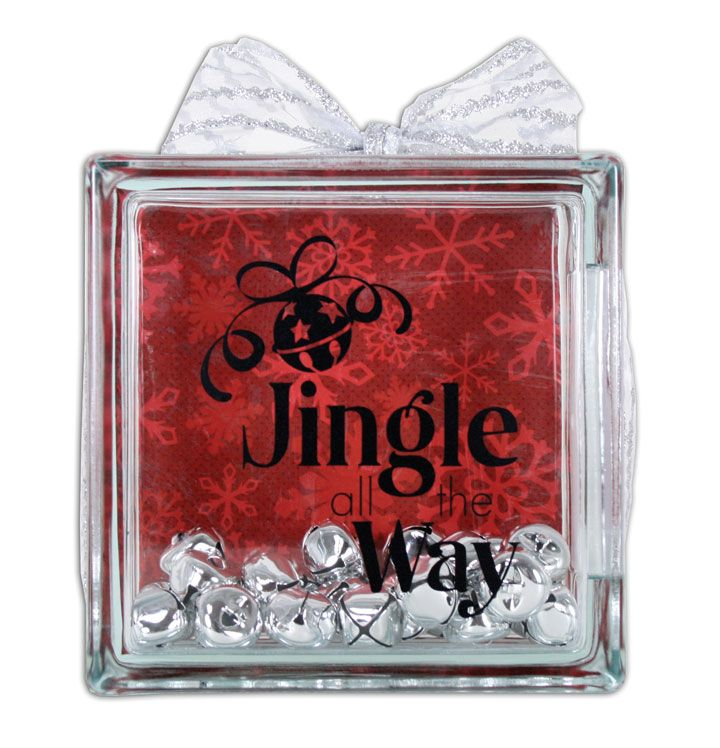 Glass Block Craft Ideas For Christmas Part - 24: Crafts Direct Blog: Glass Block Lots Of Great Ideas For All Holidays