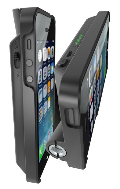 VapeCase USA by LOTUS  Lotus brings to the table an industry first; a slim yet powerful cell phone case / mod that was designed by vapers, for vapers.